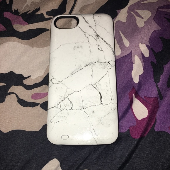 best service 11f35 4b385 Marble Charging Case (Iphone 6/6s)